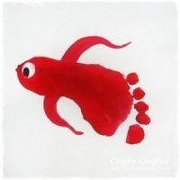 principes de la réflexologie illustrés par un poisson pied en mouvement